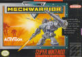 MechWarrior SNES Front Cover