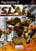 S.L.A.I.: Steel Lancer Arena International PlayStation 2 Front Cover