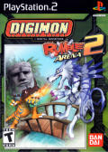 Digimon Rumble Arena 2 PlayStation 2 Front Cover