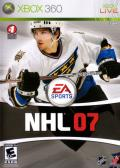 NHL 07 Xbox 360 Front Cover