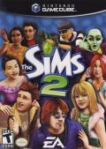 The Sims 2 GameCube Front Cover