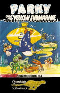 Parky and the Yellow Submarine Commodore 64 Front Cover