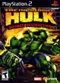 The Incredible Hulk: Ultimate Destruction PlayStation 2 Front Cover