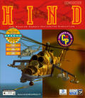 HIND: The Russian Combat Helicopter Simulation DOS Front Cover