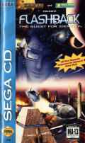 Flashback: The Quest for Identity SEGA CD Front Cover