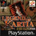 Kartia: The Word of Fate PlayStation Front Cover