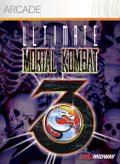 Ultimate Mortal Kombat 3 Xbox 360 Front Cover