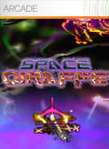 Space Giraffe Xbox 360 Front Cover