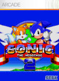 Sonic the Hedgehog 2 Xbox 360 Front Cover