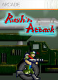 Rush'n Attack Xbox 360 Front Cover