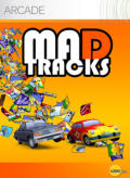 Mad Tracks Xbox 360 Front Cover