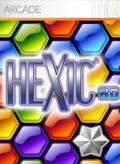 Hexic Xbox 360 Front Cover