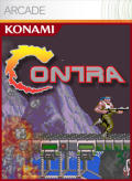 Contra Xbox 360 Front Cover