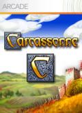 Carcassonne Xbox 360 Front Cover
