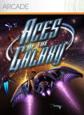 Aces of the Galaxy Xbox 360 Front Cover