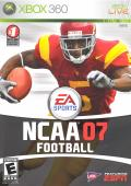 NCAA Football 07 Xbox 360 Front Cover