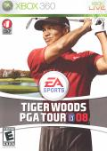 Tiger Woods PGA Tour 08 Xbox 360 Front Cover