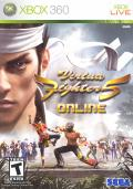 Virtua Fighter 5 Xbox 360 Front Cover