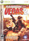 Tom Clancy's Rainbow Six: Vegas 2 Xbox 360 Front Cover