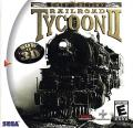 Railroad Tycoon II: Gold Edition Dreamcast Front Cover