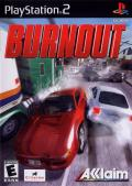 Burnout PlayStation 2 Front Cover
