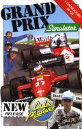 Grand Prix Simulator Commodore 64 Front Cover