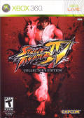 Street Fighter IV (Collector's Edition) Xbox 360 Front Cover