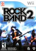 Rock Band 2 Wii Front Cover