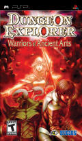 Dungeon Explorer: Warriors of Ancient Arts PSP Front Cover