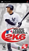 Major League Baseball 2K6 PSP Front Cover