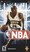 NBA PSP Front Cover