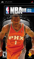 NBA 08 PSP Front Cover