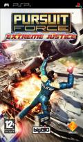 Pursuit Force: Extreme Justice PSP Front Cover
