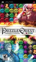 Puzzle Quest: Challenge of the Warlords PSP Front Cover