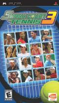 Smash Court Tennis 3 PSP Front Cover