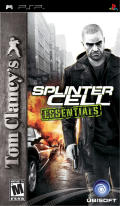 Tom Clancy's Splinter Cell: Essentials PSP Front Cover