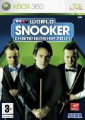 World Snooker Championship 2007 Xbox 360 Front Cover
