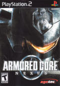 Armored Core: Nexus PlayStation 2 Front Cover