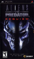 Aliens vs Predator: Requiem PSP Front Cover