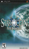 Star Ocean: First Departure PSP Front Cover