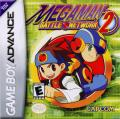 Mega Man Battle Network 2 Game Boy Advance Front Cover