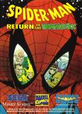 Spider-Man: Return of the Sinister Six SEGA Master System Front Cover