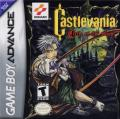 Castlevania: Circle of the Moon Game Boy Advance Front Cover