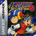 Mega Man Battle Network Game Boy Advance Front Cover