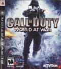 Call of Duty: World at War PlayStation 3 Front Cover