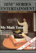 My Math Tutor DOS Front Cover