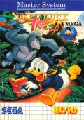 Deep Duck Trouble starring Donald Duck SEGA Master System Front Cover