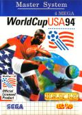 World Cup USA 94 SEGA Master System Front Cover