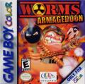 Worms: Armageddon Game Boy Color Front Cover