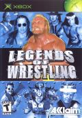Legends of Wrestling Xbox Front Cover